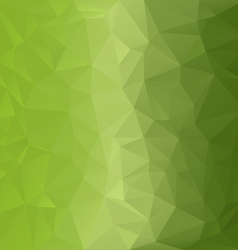 Light green polygonal triangular pattern vector