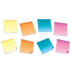 Sticky notes vector