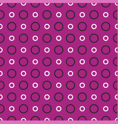 tile pattern with white and black dots background vector image