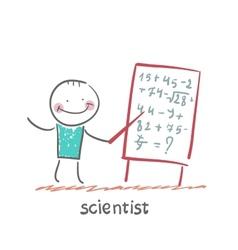 scientist vector image vector image