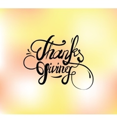 Thanksgiving day typography set vector
