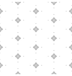 seamless pattern with fine geometric shapes vector image vector image