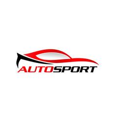 Autosport logo icon vector