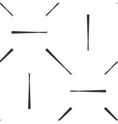 baseball bat icon seamless pattern vector image