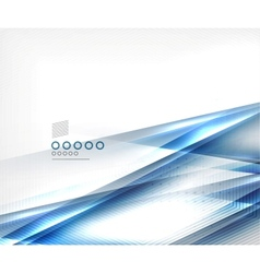 Blue blur motion lines business template vector