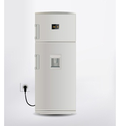 freezer vector image