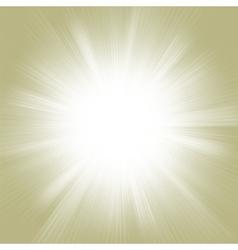Gold burst vector