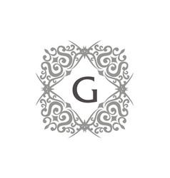 Modern letter g vector