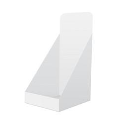 Pos display mockup vector