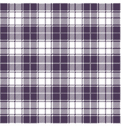 purple tartan plaid seamless pattern vector image