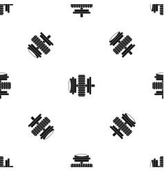 repair thing pattern seamless black vector image