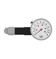 Tire pressure gauge vector