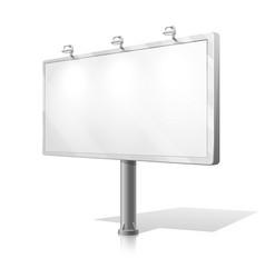 White billboard vector
