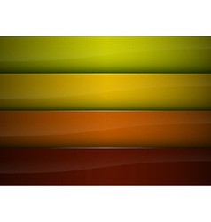 four color background vector image vector image