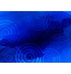 Abstract blue background business presentation vector image vector image
