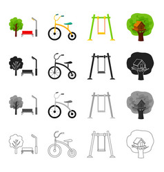 nature recreation entertainment and other web vector image vector image
