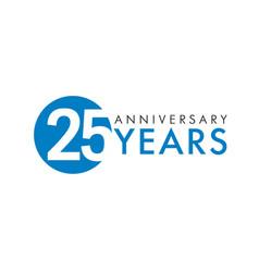 25 years logo vector