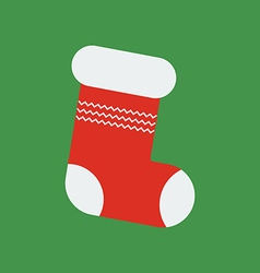 Christmas Stocking icon vector image