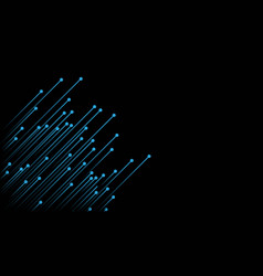 circuit background vector image