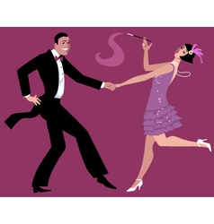 Dancing charleston vector
