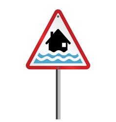 Flood Warning vector