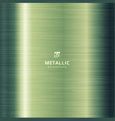 Green metallic metal polished background and vector