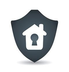 home insurance design vector image