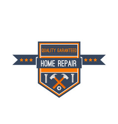 Home repair construction work tools icon vector