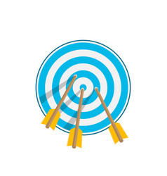 icon target vector image