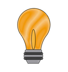 light bulb - business idea innovation icon vector image