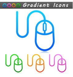 mouse symbol icon design vector image