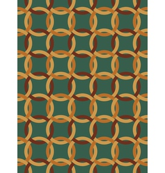 pattern made of Celtic knots vector image