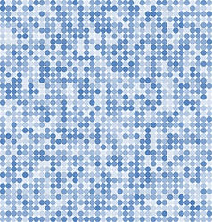 Pattern of the abstract circle blue background vector