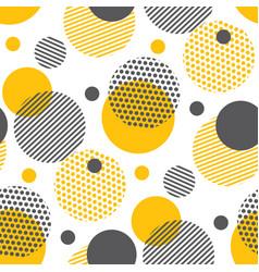 pop art geometry repeatable fabric sample vector image