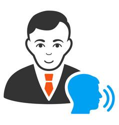 Psychotherapist visit icon vector