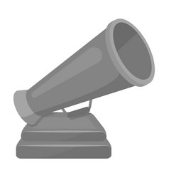 the prize in the form of a loudspeaker on a stand vector image