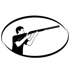 Trap shooting vector