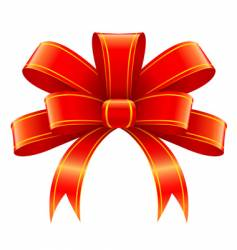 Christmas gift decoration vector image