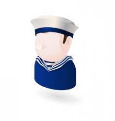 sailor icon vector image vector image