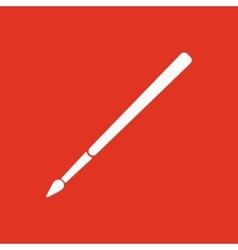 The brush icon Brush symbol Flat vector image vector image
