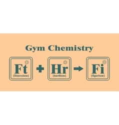 Gym and Fitness relative image vector image vector image