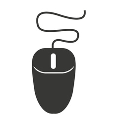 Computer mouse pointer isolated icon design vector image