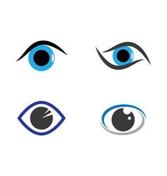 Eye logo icon vector