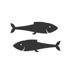 fish animal sea zodiac icon vector image
