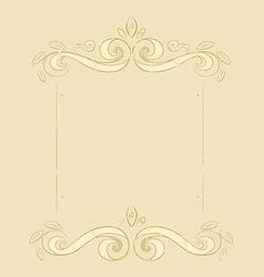 Grunge flowers frame vector