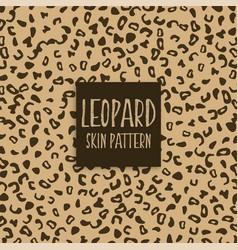 Leopard skin texture print marks vector