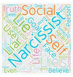 Lies people tell text background wordcloud concept vector