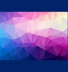light purple polygonal mosaic background vector image