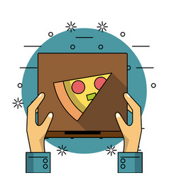 Restaurant and delivery vector