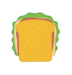 Sandwich icon Fast food design graphic vector